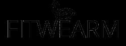 FitWearm logo fekete